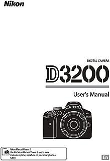 nikon d3200 user s manual nikon amazon com books rh amazon com d3200 pdf manuel korg d3200 instruction manual