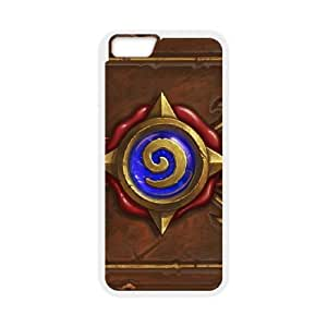 iPhone6s Plus 5.5 inch Phone Case White Hearthstone Heroes Of Warcraft UYUI6817709