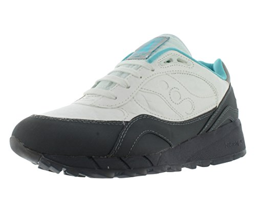 Saucony Men's Shadow 6000 Md White/Black Ankle-High