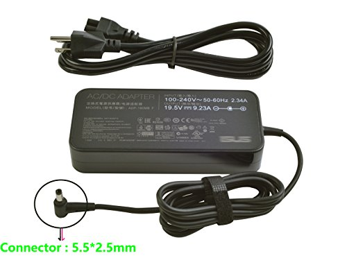 (New 19.5V 9.23A 180W Adapter Replacement for Asus G-Series Notebook ADP-180MB F, FA180PM111)