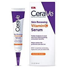 Visibly brightens to even skin tone while providing antioxidant benefits. Formulated with 10% l-ascorbic acid, the purest form of Vitamin C, to help provide antioxidant protection.