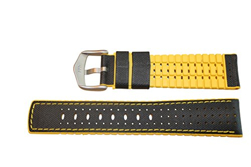 Hirsch-Performance-Robby-Sailcloth-Style-20mm-Leather-and-Rubber-Watch-Band-Black-Yellow