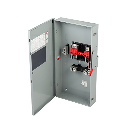 Siemens GF225NRA General Duty SAFETY Switch, Fusible, 2 Pole, 240 Volt, 400 Amp, Outdoor Rated by SIEMENS (Image #2)
