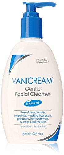 Vanicream doux nettoyant visage pour peaux sensibles avec pompe, 8 onces