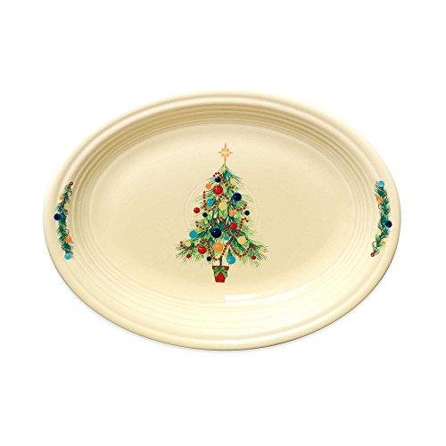 Fiesta Christmas Tree 12-Inch Oval Platter