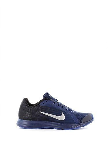 1dacd4022f Nike Boy's Downshifter 8 RFL (GS) Blu Void/SIL-Blk Running Shoes-5 ...
