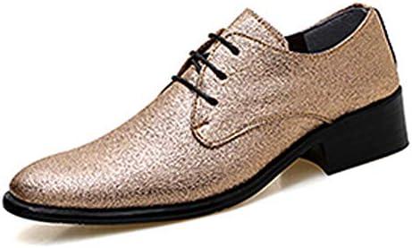 TAZAN Oxford Vestido De Los Hombres Puntiagudo Correa Zapatos De ...