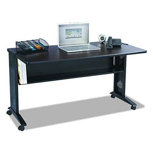- Safco Products 1933 Reversible Top Mobile Desk, 54