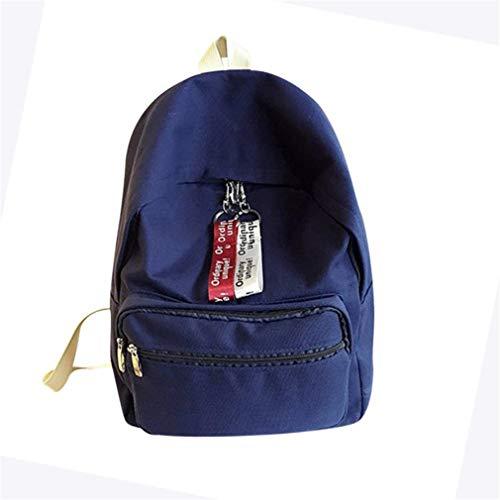 Thsyeabag Canvas Piggy Print Cute School Bag Travel Backpack B