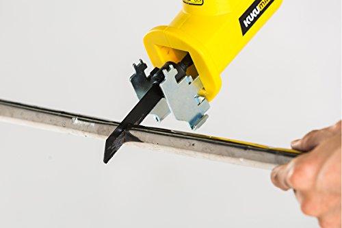 KUKUMAX 20V Lithium cordless One-handed Reciprocating Saw Garden Saw (2000mAh Li Battery,Changer,2 PCS blades) by KUKUMAX (Image #3)