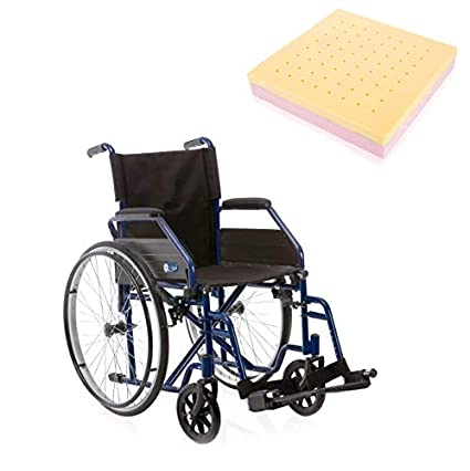Sedia A Rotelle Per Disabili E Anziani Con Cuscino
