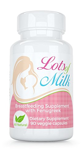 Lots of Milk - Breastfeeding Nursing Blend with Fenugreek & Fennel, Natural Lactation Support from Maternal Balance