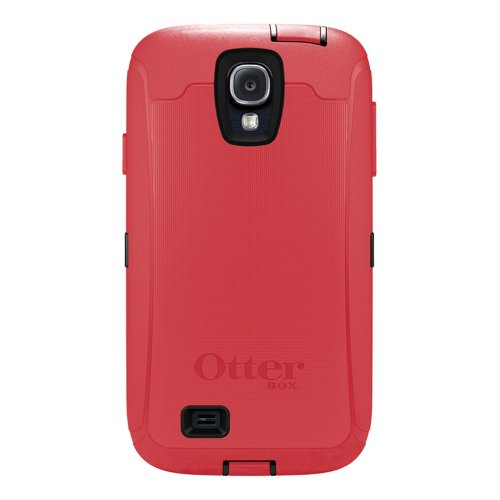 OtterBox 77-27770 'Defender Series' Protective Case for Samsung Galaxy S4 Phone - Raspberry (Retail Packaging from OtterBox) (Otterbox Phone Cases For Samsung Galaxy S4)