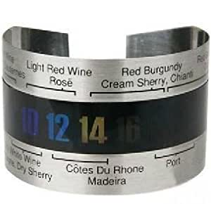 Time is known to drink it just to bind a wine thermometer belt type bottle [little Monster] (japan import)