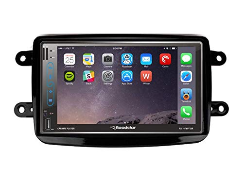 Central Multimídia Renault DUSTER Gps Tv Esp. Android E Ios PRETO