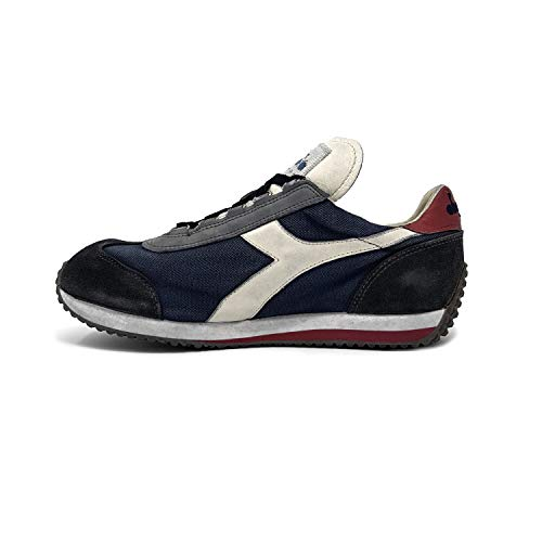 Evo Nuits Bleu Diadora Dirty Sneakers Equipe Homme Heritage Sw C7665 anthracite Pour xRX1T4wq