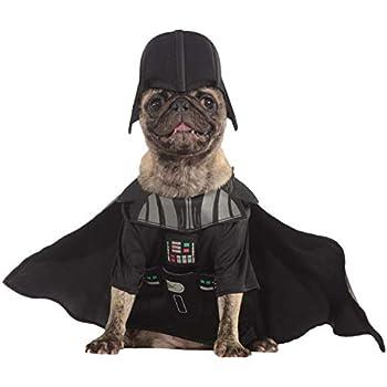 Amazon.com: Star Wars Darth Vader Pet Costume, Medium: Pet ...