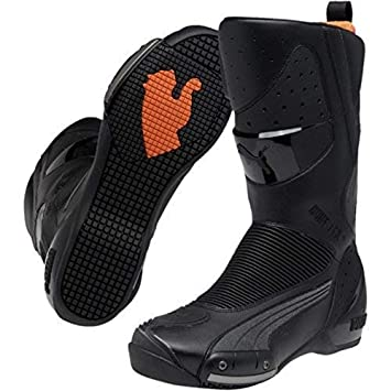 100% authentique 22d1f 6e81a Amazon.fr : Puma 305211 01_44 Bottes Moto Sports Touring ...