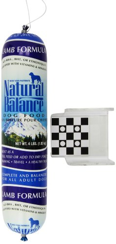 Natural Balance Dog Food, Lamb Formula, 4 Pound Roll
