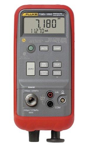(Fluke 718Ex 30 Intrinsically Safe Pressure Calibrator, 30 PSIG)