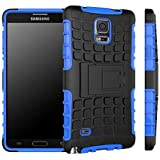 Galaxy Note 4 Case, Galaxy Note 4 Armor Cases- Tough Armorbox Dual Layer Hybrid Hard/Soft Protective Case by Cable and Case -