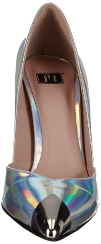 P1 145 Silber Argent Metallic Silver femme bpm Escarpins q8wrH7q