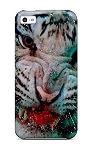 fenglinlinNew Style 1738562K74853575 iphone 6 plus 5.5 inch Tiger Print High Quality Tpu Gel Frame Case Cover