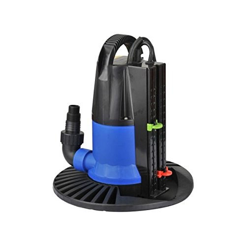 Wellness Automatic Submersible Pump for emptying Pool Cover Cover