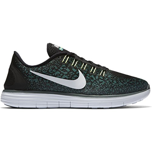 Nike Mens Libero Distanza Rn Nero / Platino Puro-giada Smalto-hasta 12.5