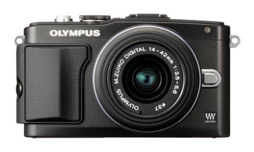 オリンパス ペンライト EPL5 ブラック レンズキット M.ズイコー デジタル1442mm F3.55.6 II R
