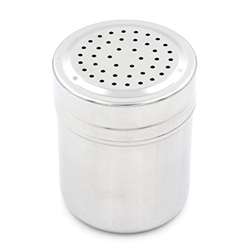 Yiphates Stainless Steel Spice Jars, Seasoning Shake Spice Bottles Salt Sugar Spice Pepper Herb Container Shakers