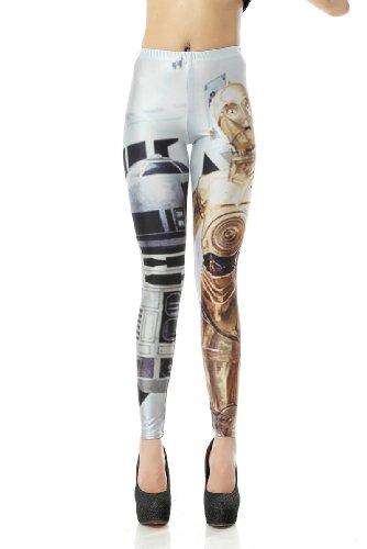 Legging Moyen Femme And Threepio Fg370 artoo Leggings Amour OHwxPqR