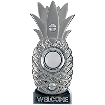 Amazon Com Hospitality Pineapple Doorbell Ringer Brass