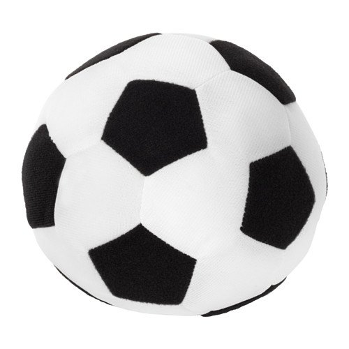 IKEA Sparka Mini Soft Toy Soccer Ball, -