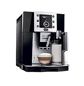 Delonghi ESAM5500B Perfecta Digital Super Automatic Espresso Machine with Cappuccino Function, Black