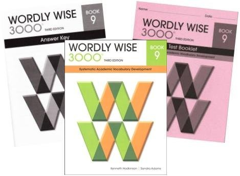 wordly wise 3000 grade 9 set student answer key and tests