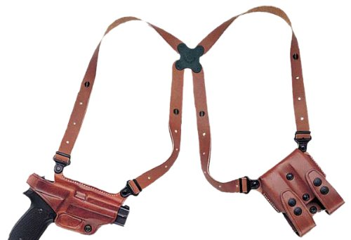 Galco Miami Classic Shoulder System for S&W M&P 9/40 (Tan, Right-Hand)