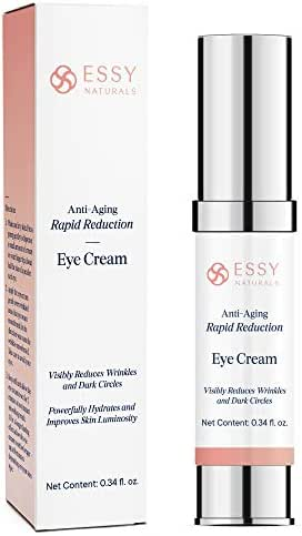 EssyNaturals.Anti-Aging Rapid Reduction Eye Cream - Visibly and Instantly Reduces Wrinkles, Under-Eye Bags, Dark Circles in 120 Seconds