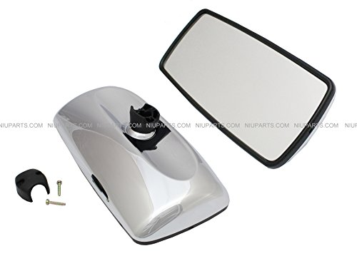 Freightliner-M2-Columbia-Rear-View-Main-Mirror-Chrome-Passenger-Side