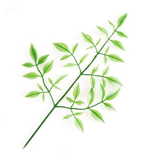 (STAR-FIVE-STORE - Single Leaf Of Rose Leaf Simulation Artificail Plants Plastic Fake Flower Artificial Plant Flower Arrangement Decoration FZA0568)