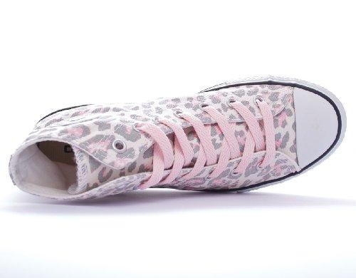 Vaporous Grey Graphic sneaker femmes Canvas Hi toile Converse Taylor Pink high Chuck qwU6nvz
