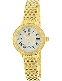 Michele Women's Serein 12 MWW21E000013 Gold Stainless-Steel Swiss Quartz Watch