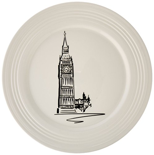 Lenox Tin Can Alley London Accent Plate, 9-Inch