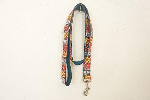 hipidog Personalized Dog Collar Leash- Matching Collar Available Separately (Bohemia)