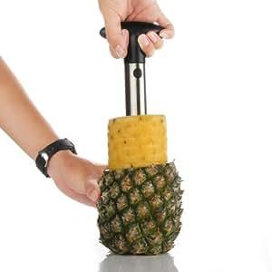 Stainless Steel Fruit Pineapple Corer Slicers Peeler Parer Cutter Kitchen Easy Tools