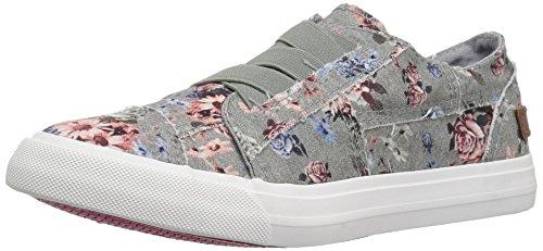 Blowfish Kids Girls' Marley-k Sneaker, Drizzle Grey Love Letter, 3 Medium US Little Kid by Blowfish