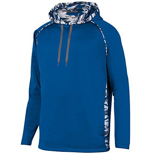 Augusta Sportswear Men's Mod Camo Hoodie, Royal/Royal Mod, Small