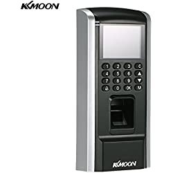 KKmoon Biometric Fingerprint Access Control System TCP/IP,USB Attendance Machine Electric RFID Card Reader Sensor