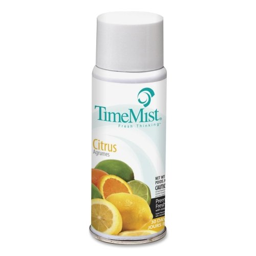 Wholesale CASE of 25 - Waterbury Time Mist Dispenser Scented Refills-Micro Timemist Refill, 2 oz, Citrus Fragrance by WTB