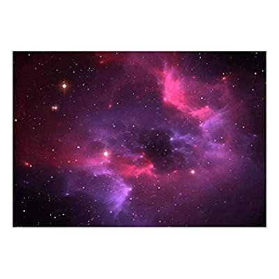Majestic Creative Design, it is good, Pink and Purple Galaxies in a Sea of Stars Wall Mural